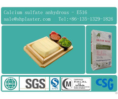 Food Grade Calcium Sulfate Dihydrate Superfine For Tofu