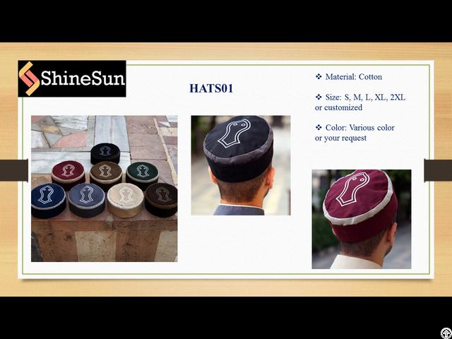 Muslim 2 Colored Hats