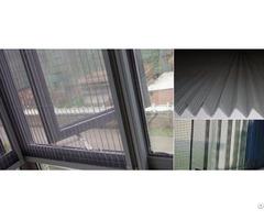 Pleated Mesh Window Screen Panels