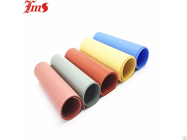 Adhesive Heat Resistant High Temperature Silicone Rubber Sheet