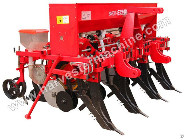 No Tillage Corn Seeder