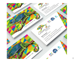 Business Cards Full Colour And Matt Cello Glaze Chameleon Print Group
