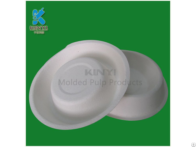 Biodegradable Waterproof Molded Pulp Dog Bowls Wholesale