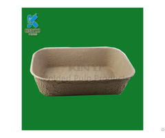 Disposable Biodegradable Fiber Pulp Cat Dog Bowls Design