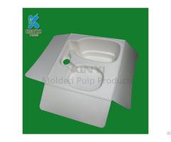 Biodegradable Waste Pulp Molded Fiber Packaging Custom