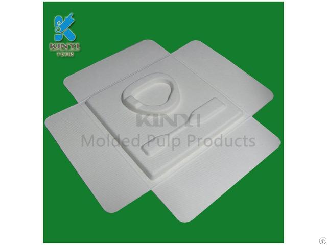 Biodegradable Fiber Paper Pulp Packaging Boxes Wholesale