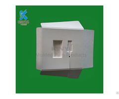 Biodegradable Pulp Molded Fiber Packaging Suppliers Customized