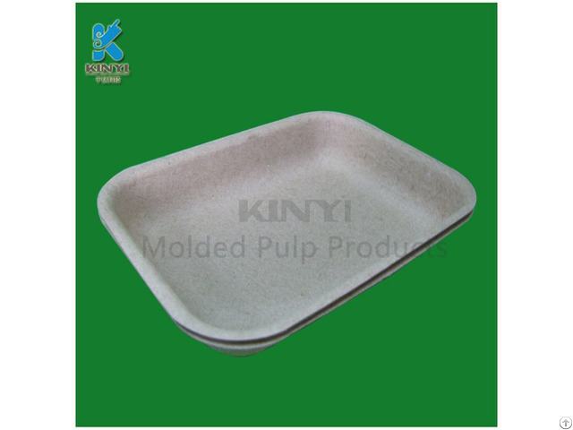 Eco Friendly Pulp Molded Disposable Fruit Trays Wholesale