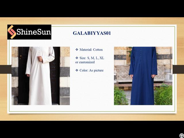 Muslim Galabiyyas01 For Men