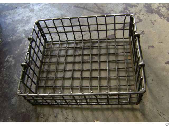 Chrome Plated Steel Wire Basket
