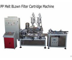Pp Melt Blown Filter Cartridge Making Machine