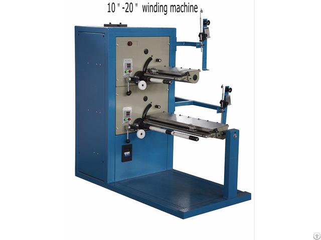 String Wound Filter Cartridge Making Machine