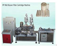 Pp Fiber Filter Cartridge Making Machine