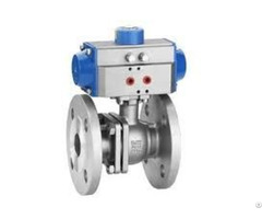 2pc Stainless Steel Pneumatic Ball Valves