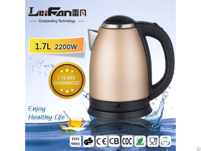 Durable Tea Maker Stainless Steel Electric Kettle