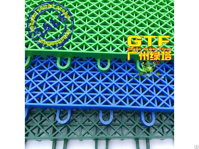 Plastic Interlocking Tiles For Outdoor Sports