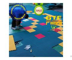 Kindergarten Playground Colorful Interlocking Flooring