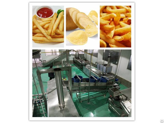 Natural Potato Chips Production Line