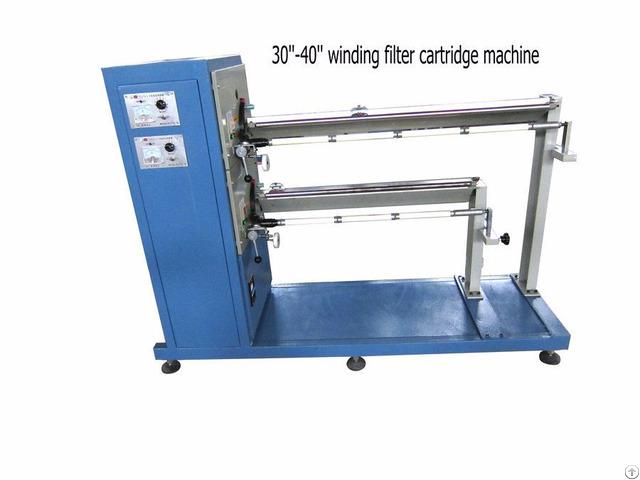 Pp Yarn Winding Filter Cartridge Making Machine