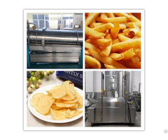 Automatic Natural Potato Chips Making Machine