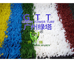 Running Track Colorful Artificial Turf