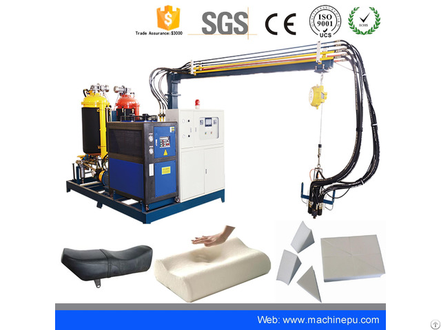 High Pressure Pu Polyurethane Foaming Injection Machine For Mattress