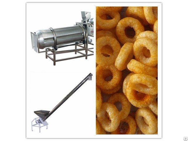 Stainless Steel Corn Puff Snack Making Machine