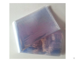 Super Long Bluish Pvc Shrink Film Bag