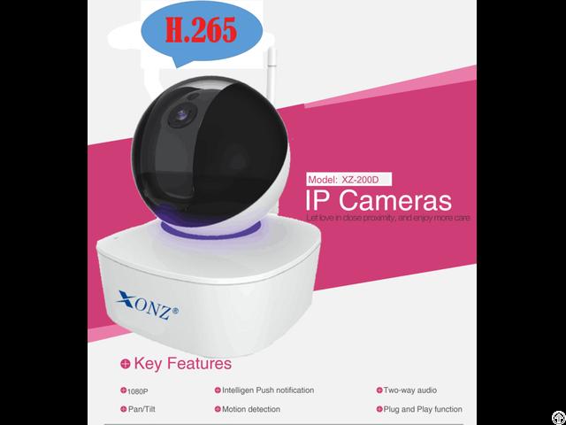 Indoor H 265 2megapixel Ptz Ip Camera
