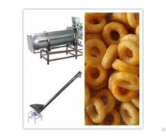 Ss304 High Quality Puffed Snack Production Line