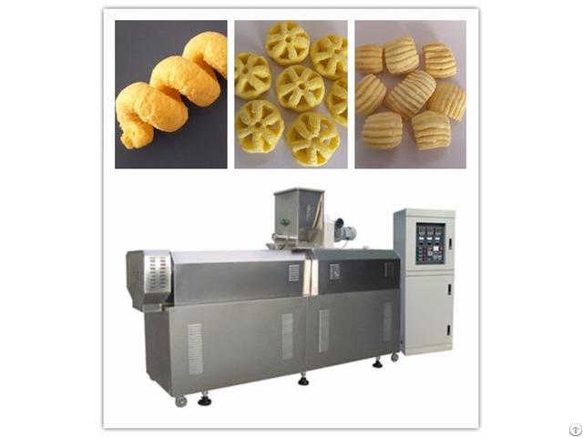 High Quality Material Puff Snack Machine