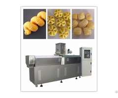Stainless Steel Material Puffed Snack Machine