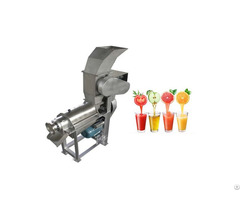 Industrial Screw Type Fruits And Vegetables Juice Making Machine