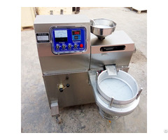 Small Capacity Sesame Peanut Oil Pressing Machine For Shop Use