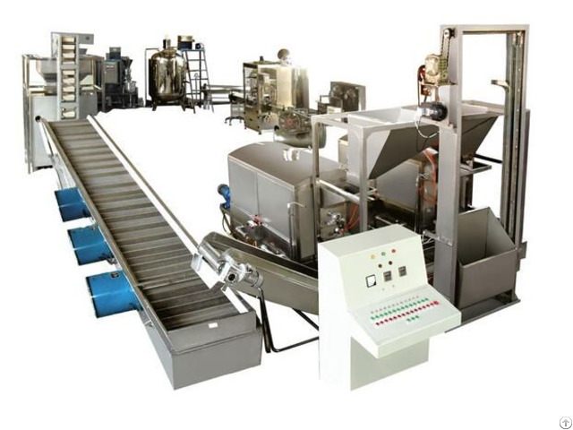 Automatic Peanut Butter Production Making Machine