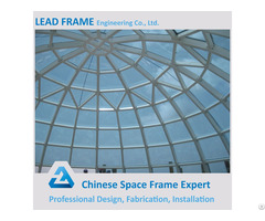 Large Space Frame Skylight Dome Made In China
