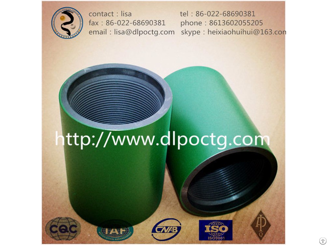 Tubing And Casing Coupling Seamless Steel