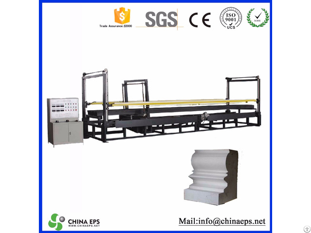 High Quality Automatic Eps Expanded Polystyrene Expanding Foam Cutting Machine