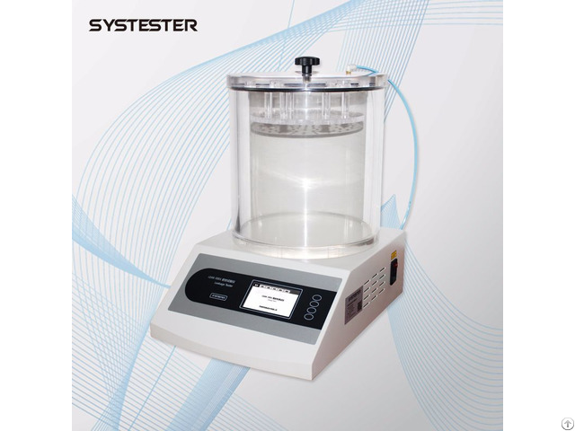 Packaging Leakage Tester Positive Pressure Method Testing Machine