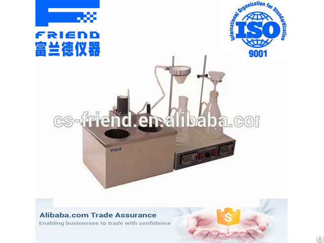 High Accuracy Mechanical Impurities Detector Laboratory Test Equipment For Oil And Petroleum