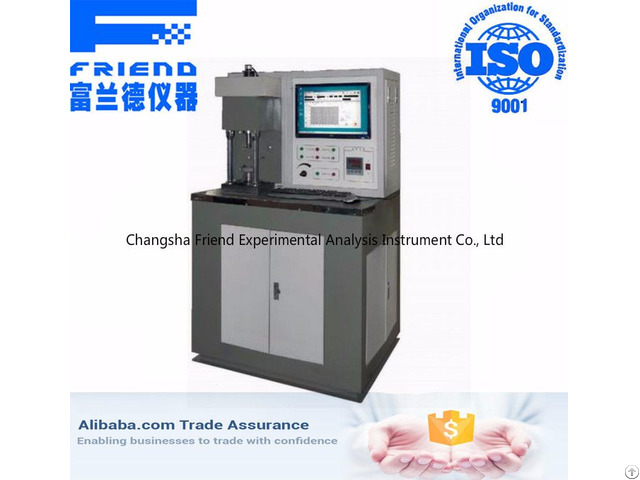 Automatic Four Ball Tester Lubricants Oil Extreme Pressure And Abrasion Resistance Test Equipment