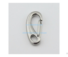 Grade 304 316 Stainless Steel Egg Shaped Mini Snap Hook 50mm 70mm 100mm
