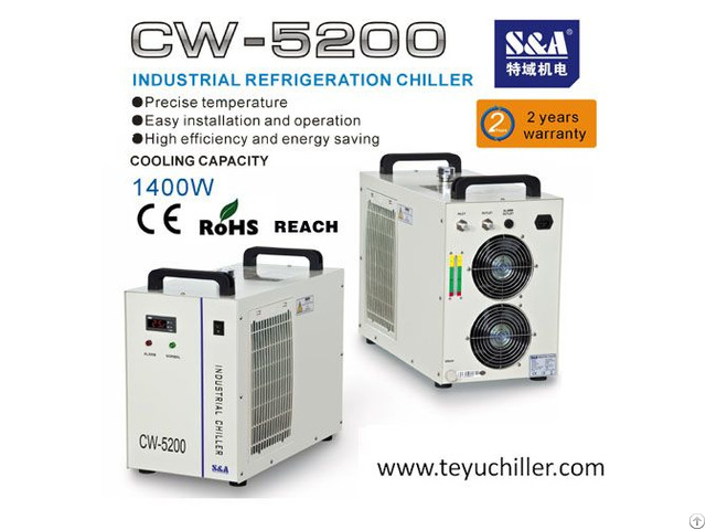 S And A Chillers To Cool Down Vacuum Pumps Of The Line Alchemist