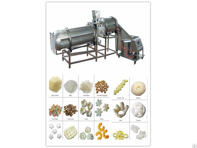 Wide Market Puffed Snack Production Line