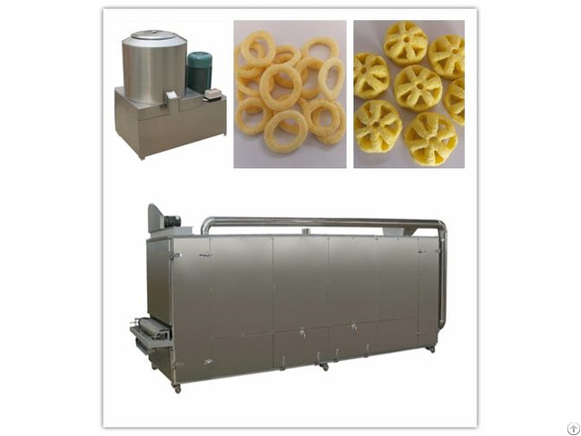 Low Price Puffed Snack Making Machine