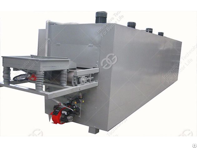 Hot Sale Continuous Soybean Nut Roasting Machine In Good Quality