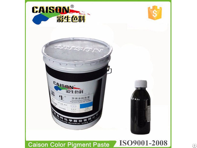 Higher Pigments Contents Pigment Color Paste For Textile Printing