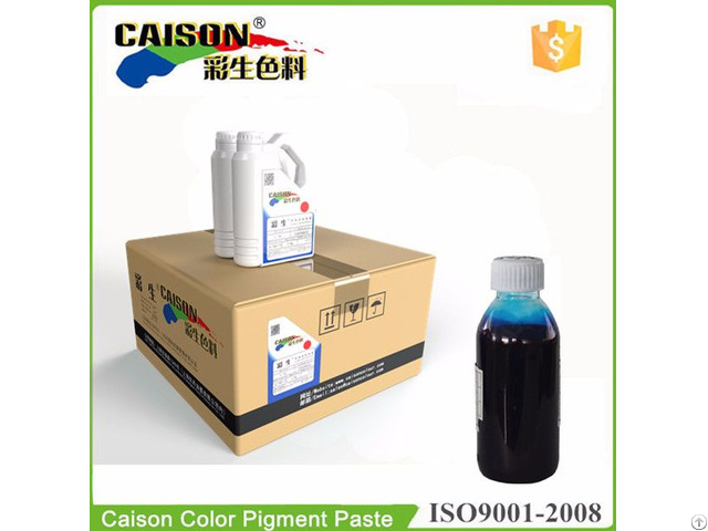 Pigment Preparation For Water Based Coloring