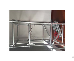Galvanized Steel Ringlock Scaffolding System For Construction