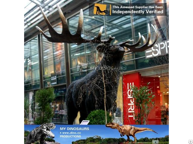 My Dino Robotic Animal Elk For Plaza Exhibition